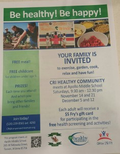 CRI Healthy Community 2015